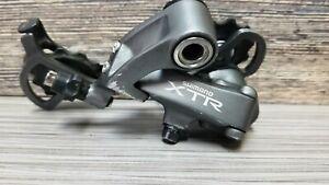 Shimano XTR RD-M952 mountain bike rear derailleur 9 speed long cage Vintage