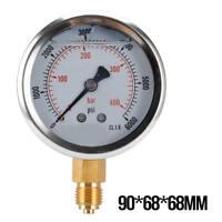 Shoze Fuel Pressure Meter Tester Oil Combustion Spraying Injection Gauge Gauges Diagnostic Service Tool Set