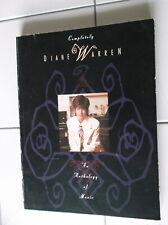 Completely Diane Warren Anthology Sheet Music Song Book New Warner Bros 1994 Oop