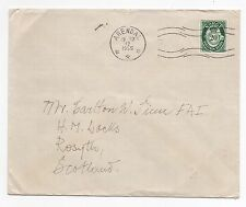 1955 NORWAY Cover ARENDAL To HM Docks ROSYTH SCOTLAND