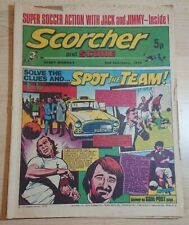 Scorcher & Score UK Weekly Comic 2nd February 1974 Dundee United
