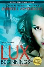 Complete Set Series - Lot of 5 Lux books by Jennifer Armentrout YA Obsidian Onyx