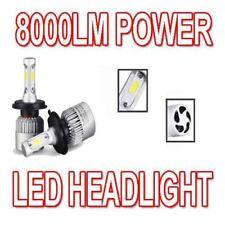 H4 100W LED COB LAMPADINE FARO ANTERIORE COPPIA 8000 LUMEN CANBUS CITROEN C1