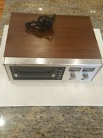 Vintage Sanyo 8 Track Record Deck Model RD 8020 - Untested - AS IS