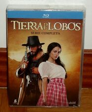 TIERRA DE LOBOS-1-3 KOMPLETTE SERIE-PACK 11 BLU-RAY-NEUE-OVP-NEW-SEALED-