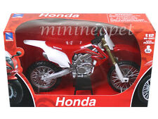 NEW RAY 57463 HONDA CR250R CR 250R DIRT BIKE 1/12 RED
