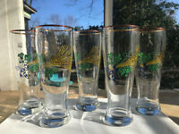 One Weissbier/Weisenbier 0.5L vintage beer glass from Bavaria, Germany (5 avail)
