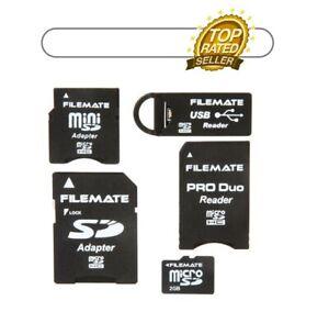 Filemate 2GB MicroSD Universal Adapter Kit 3FMUSDK2GBM