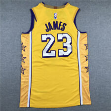 LeBron James #23 Los Angeles Lakers Camiseta Jersey Baloncesto Edición de ciudad
