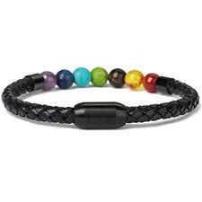 Female Elastic Chain Bangle Bead Bracelets Colorful Bracelet Jewelry T3