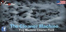 Fog It Up! Quart of Cleaner Machine Fog Machine Cleaning fluid. Unclog that Fog