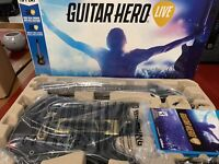 GUITAR HERO LIVE NINTENDO WII U BOX SET NEW IN OPEN BOX ACTIVISION 2015
