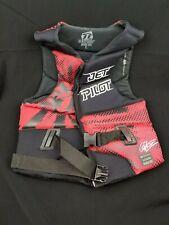 Jetpilot Dillon Gun Front Zip Single Buckle Comp Vest - Size L / Large