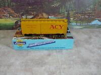 Athearn # 1212 ACY 40ft  Boxcar 1/87 HO  NIB Built.