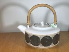 VINTAGE AUTHENTIC & UNUSUAL LOVELY PIECE OF TROIKA TEAPOT SUPERB CONDITION.