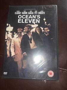 OCEAN'S ELEVEN - DVD (BRAND NEW & SEALED) George Clooney, Matt Damon, Brad Pitt