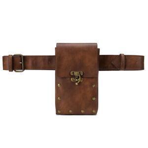 Medieval Renaissance Waistbag Belt dult Men Viking Knight Pirate Cosplay Bag