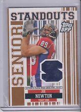 2007 Topps Draft Picks & Prospects Joe Newton Senior Standouts Jersey #SSJN