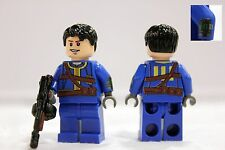 LEGO Fallout 4 Post Apoc Survivor Custom Printed Mini-figure (No Weapon)