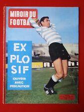 1961 miroir du football n°14 MARCEL ANGLETERRE MONACO CUBA BILAN HERRERA PEROU