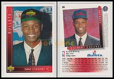 NBA UPPER DECK 1993/94 - Calbert Cheaney # 86 - Bullets - Ita/Eng - MINT