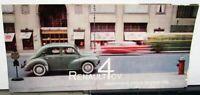 1959 Renault 4 CV Dealer Sales Brochure Folder Features & Specs Original