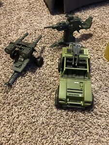 GI joe Figures and Vehicle Lot
