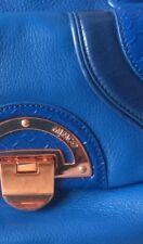 MIMCO Blue LEATHER Atlantis Day Bag BNWOT + MIMCO dust bag