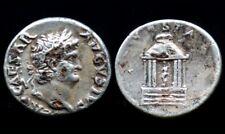 Denier NERON (64-66) VESTA (argent / silver) Denarius Néro - fourré