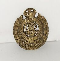 WWII Royal Engineers Cap Badge Slider Field Rounded