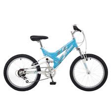 Avigo 50cm Girls Mountain Bike Chromium Dual Suspension