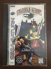 Guardian Heroes (Sega Saturn, 1996) Complete in Box Collector's Quality