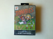 ZOMBIES SEGA MEGADRIVE GENESIS PAL NUEVO PRECINTADO NEW SEALED