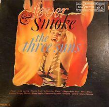 The Three Suns 1961 Fever & Smoke RCA Victor Living Stereo EX Vinyl LP Lounge