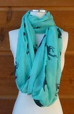 Super Fun Infinity Scarf!! Running horses adorn this lovely infinity scarf!!