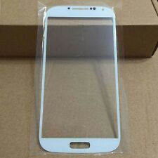 Front Screen Lens Outer Glass for Samsung Galaxy S4 i9500 i9505 i337 White