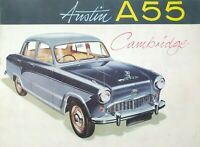 Austin A55 Cambridge Sales Brochure - Classic Car - BMC - Longbridge -