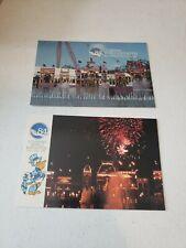 Lot of 2 VTG 1984 Louisiana World Exposition, Original 1984 Postcards NEW Unused