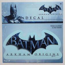 "Batman Arkham Origins Bat logo Car Window Sticker Decal 5 1/2""  Officially Lic"