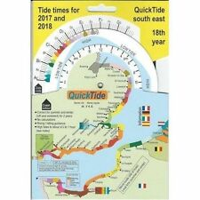 Quick Tide South East Tide Times Table 2017 - 2018 - Boat Sailing Yacht New ZS1