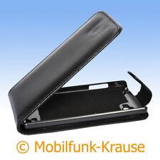Funda abatible, funda, estuche, funda para móvil para LG p880 Optimus 4x HD (negro)