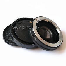 Contax Yashica CY Lens to Sony Alpha Minolta AF MA Glass Adapter Infinity focus