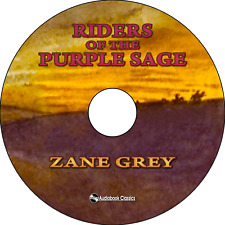 Riders of the Purple Sage - Unabridged MP3 CD Audiobook in paper sleeve