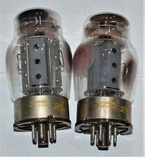 2 Vintage Sylvania TUNG-SOL 6550 Audio Amplifier Tubes