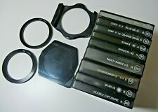 COKIN Creative Filter System with Adapters, Filters both color + Special Effects