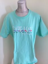 Cape May Tulip Festival Vintage Women's T Shirt L Large Green Top Threads