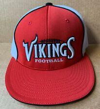 VIKINGS HIGH SCHOOL FOOTBALL TEAM BASEBALL CAP HAT, NC, NEW NWOT