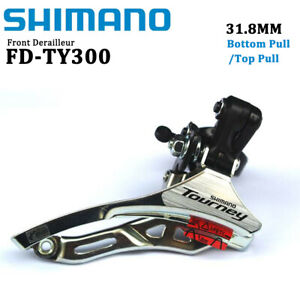 Shimano Tourney FD-TY300 6/7/8 Speed MTB Bike Front Derailleur 31.8MM Clamp-On