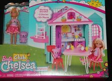 Barbie Club Chelsea Clubhouse Playhouse new in box