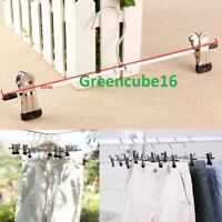 High Quality Non Slip Metal Clip Peg Hanger for Skirt / Trouser / Clothes